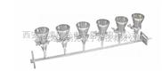yt-3000-六联不锈钢溶液过滤器/多联溶液过滤器/六