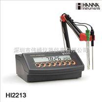 哈納 HI2213 實驗室pH/ORP測量儀丨HI2213台式酸度計
