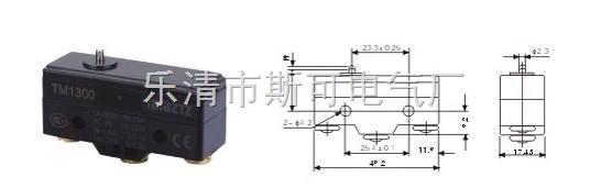 开关连接两个线路,为电器,机器等提供通断电控制,广泛应用在鼠标,家用