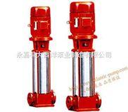 消防泵产品概述,多级消防泵,立式管道消防泵性能范围,管道消防泵型号意义
