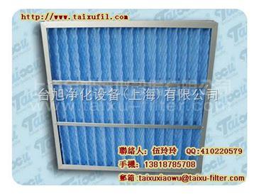 上海初效板式过滤器,上海初效密皱式过滤网,上海空气滤清器