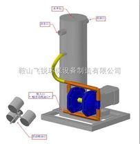 静压涡旋浮油收集器