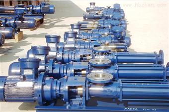 EQG耐腐蚀污水螺杆泵