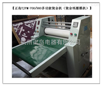 上海全自动烫金复膜机厂家销售
