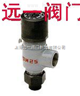 A21F-25外螺纹液化气安全阀