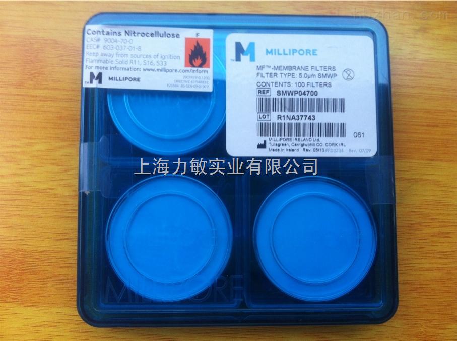 上海Millipore混合纤维素酯微孔滤膜47mm*5um