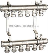 856镀镍球阀式分水器