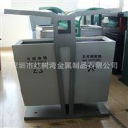深圳市小区不锈钢垃圾桶厂家直销
