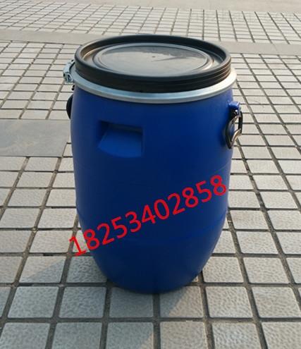 30l-供应小口蓝色30公斤塑料桶30kg堆码方桶厂家