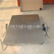 山东不锈钢电子磅秤,3吨防水电子秤,天津地磅厂直销