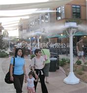 商业街喷雾降温