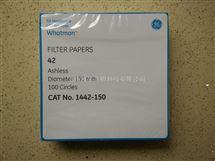 WHATMAN沃特曼42号定量滤纸一级代理,WHATMAN 1442-150价格优惠