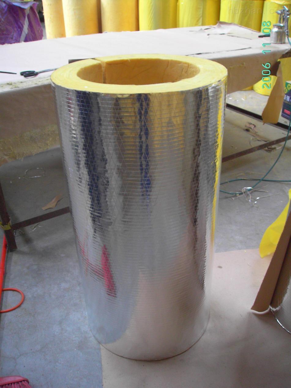 铝箔贴面玻璃棉保温管