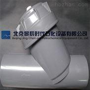 北京景辰大口径承插式PVC-Y型过滤器