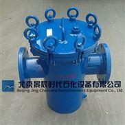 不鏽鋼材質SRBA-16SBL14型法蘭直通式(筒式)過濾器