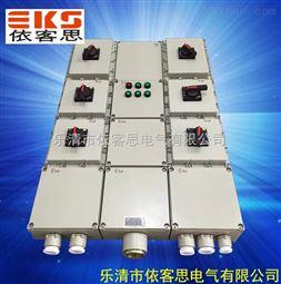 BXM(D)51-12防爆配电箱户外防爆照明配电箱IP65