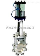 PZ673W-10NR气动高温刀型闸阀