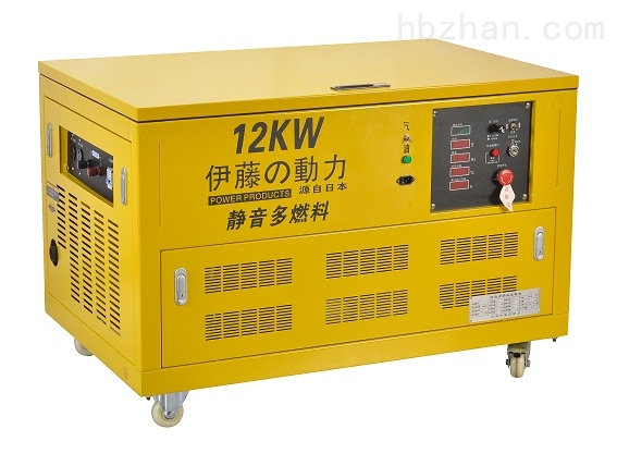 小型发电机汽油便携式12kW