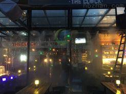 大连露天酒吧/环保专家户外餐厅/烧烤街喷雾降温系统报价