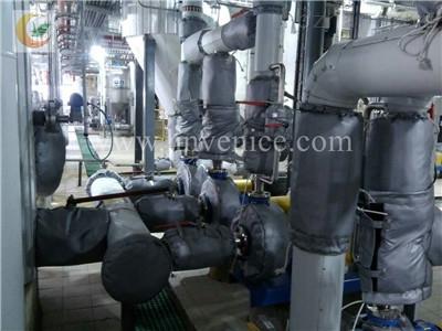 冶炼厂可拆卸保温套宜宾资阳自贡定做