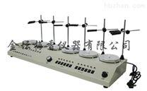 HJ-6 多用 六聯磁力加熱攪拌器