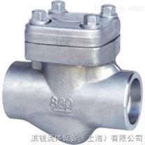 H61H、H61Y 型 800(Lb) 承插焊鍛鋼止回閥