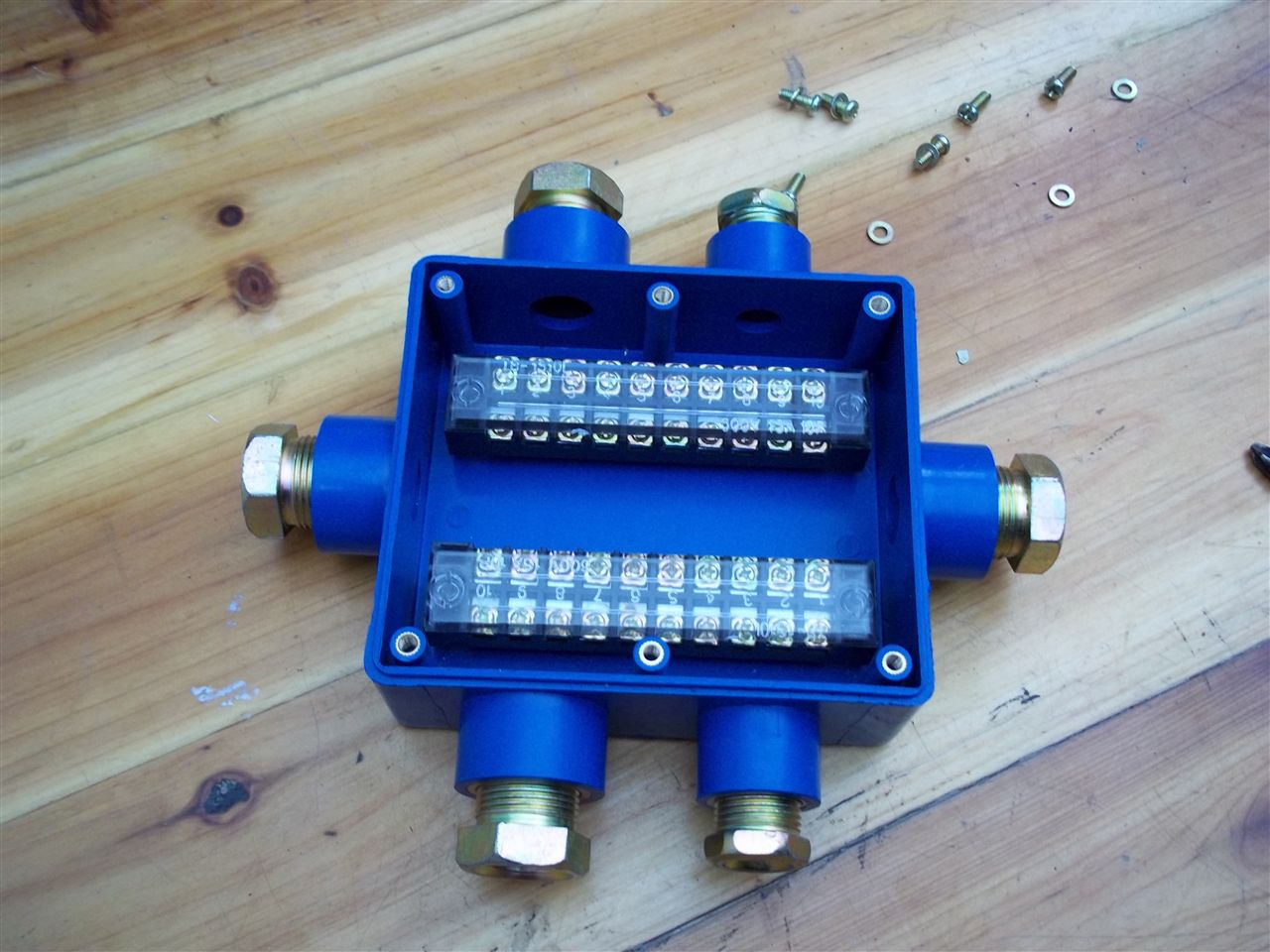 jhh-6(a)矿用本安电路接线盒