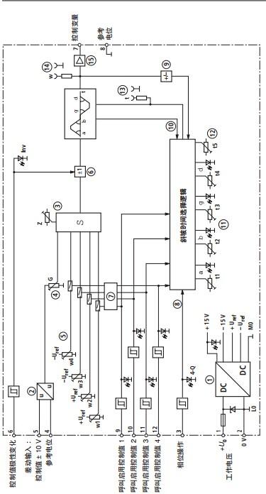 带调零电位器的加法器