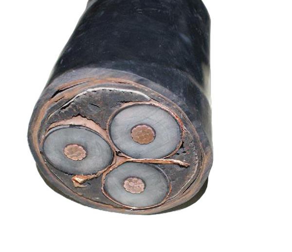 比油浸纸绝缘电缆高且结构简单
