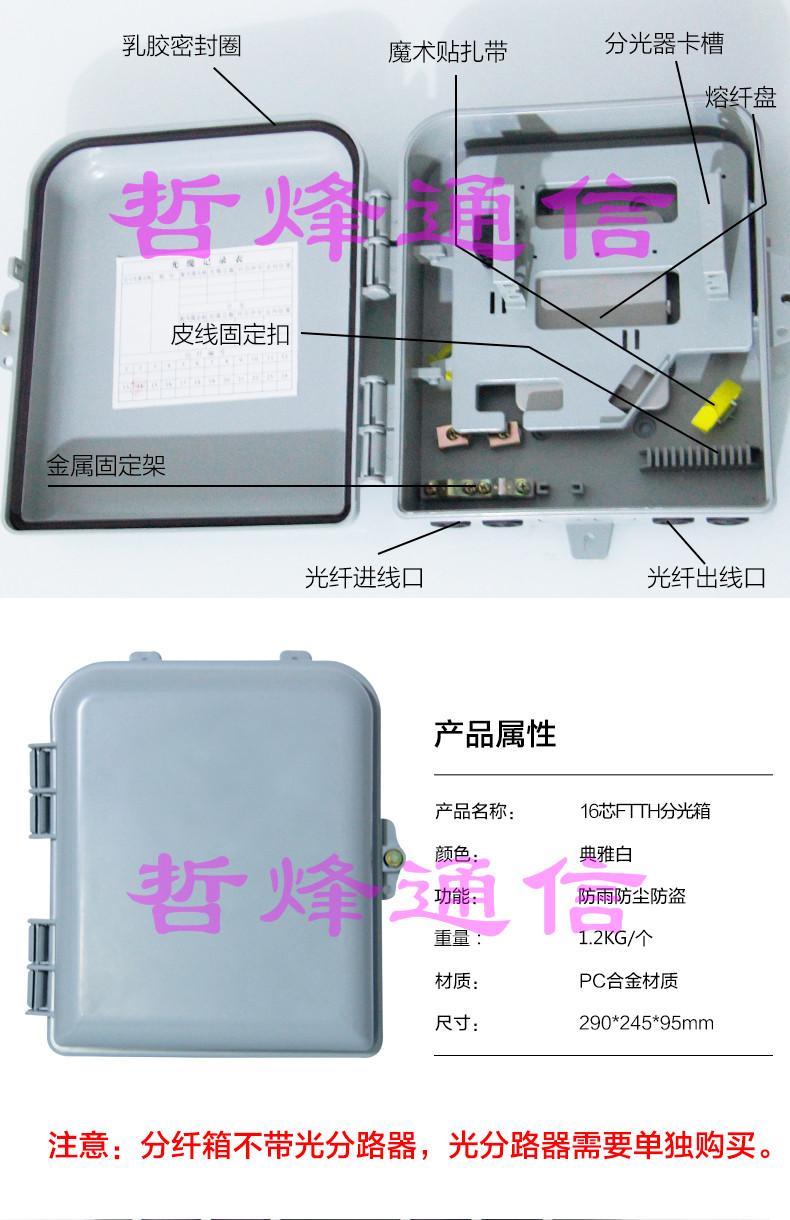 光纤网络箱 结构 细节图