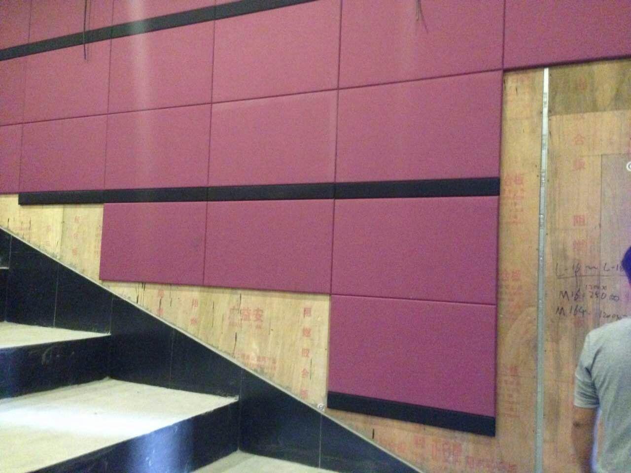 电影院声学设计与施工技术--瑞鑫软包吸音板声学材料厂