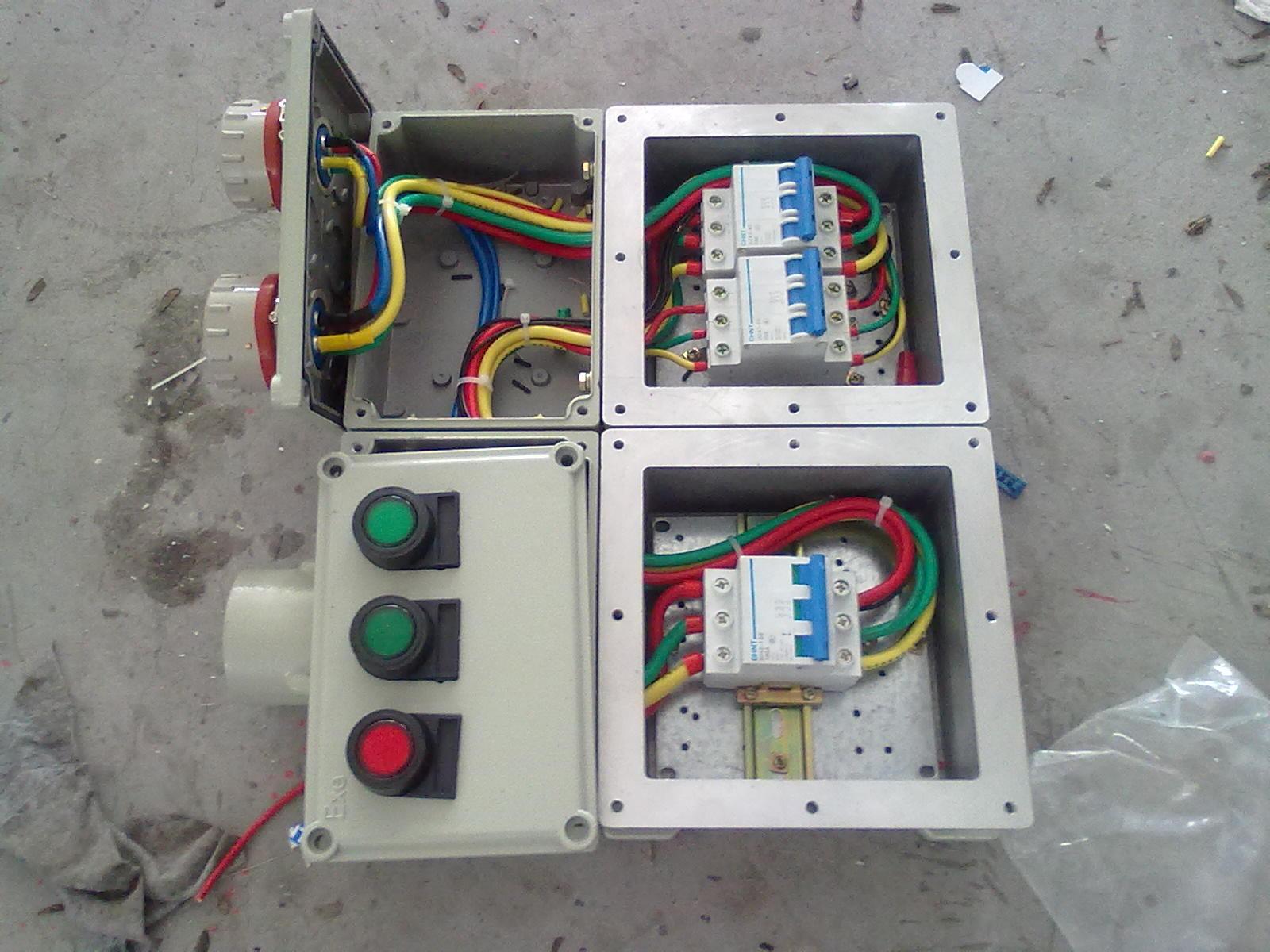三相回路三个单相回路三个配电箱接线图