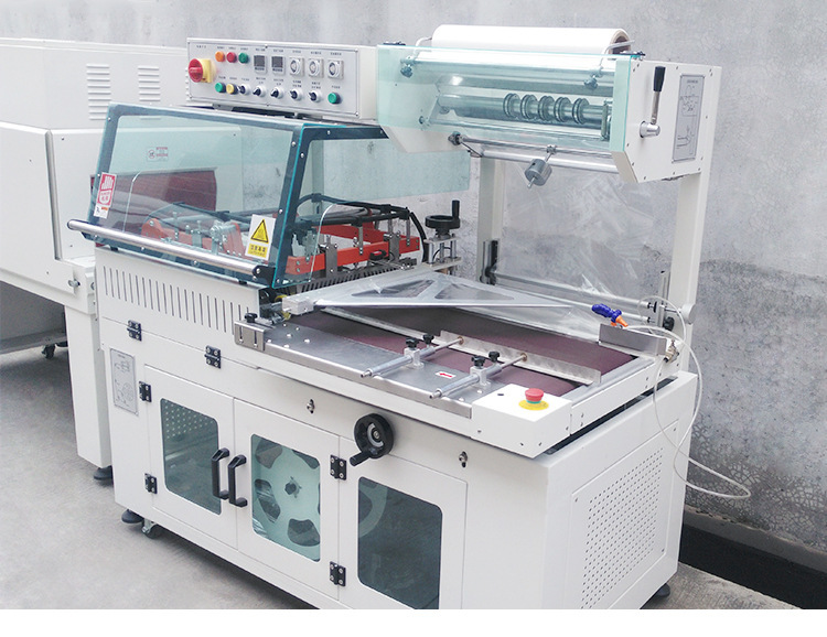 齐全-L型热收缩膜包装机自动v书包书包图脸部洗脸刷相册清洁器图片