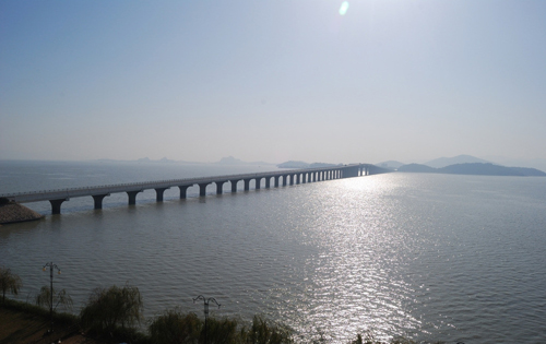 安徽安慶太湖風景