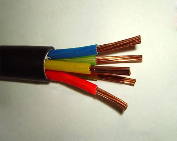 yjv 5*10铜芯电力电缆图片